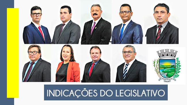 Confira as indicações dos vereadores lidas na 30ª Sessão Ordinária, realizada em 13/09/202